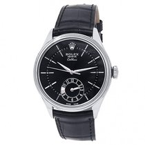 Rolex Cellini Dual Time White gold 39mm Black United States of America, New York, New York