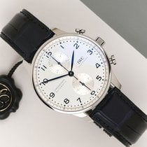 IWC Portuguese Chronograph Staal 41mm Zilver Nederland, Maastricht
