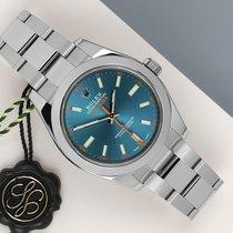Rolex Milgauss Acero 40mm Azul