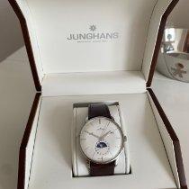 Junghans Meister Kalender Acél 40.4mm Ezüst Számjegyek nélkül