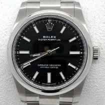 Rolex Oyster Perpetual 34 Steel 34mm Black No numerals UAE, Sharjah