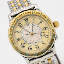 Longines Lindbergh Hour Angle Gold/Steel 38mm Champagne Roman numerals