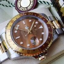 Rolex GMT-Master II 16713 Nagyon jó Arany/Acél 40mm Automata