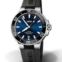 Oris 01 733 7732 4135-07 4 21 64FC Steel 2021 Aquis Date 39.5mm new