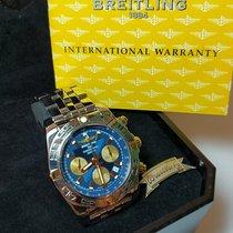 Breitling Chronomat 44 usados 44mm Azul Cronógrafo Fecha Acero