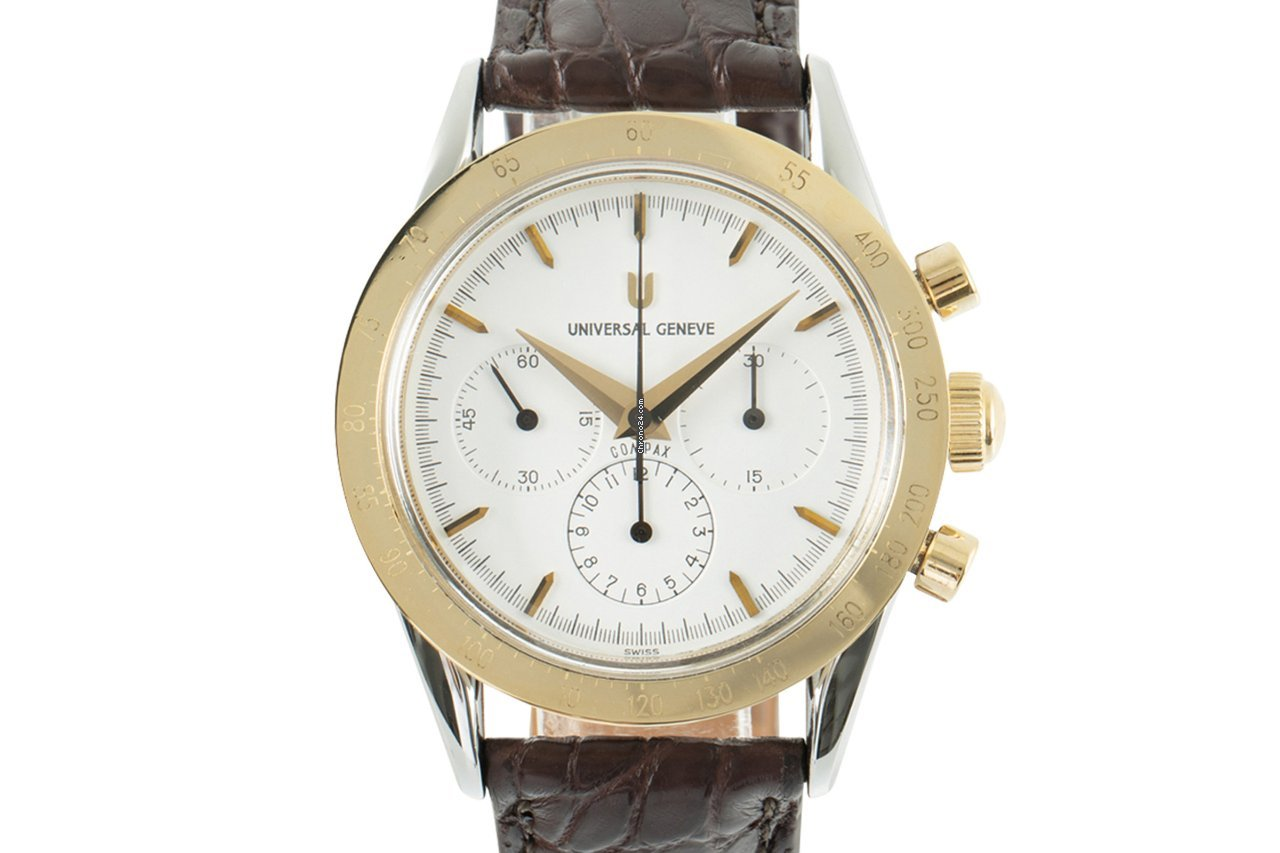 Universal Genève Compax 284.445 2000 pre-owned