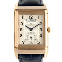Jaeger-LeCoultre Grande Reverso Duo Red gold 41.5mm Silver
