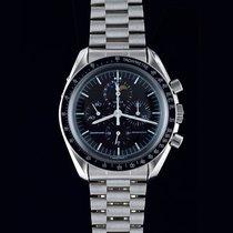 Omega Speedmaster Professional Moonwatch Moonphase Сталь Черный