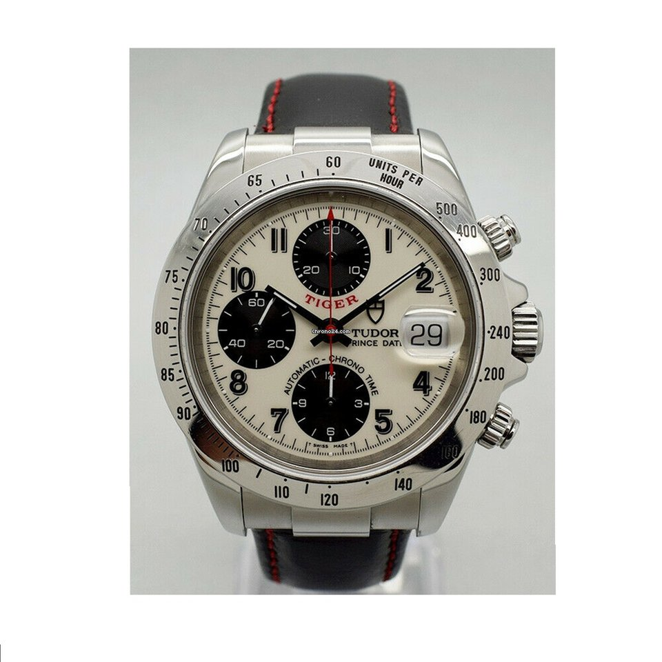 Tudor Tiger Prince Date 79260P 1999 pre-owned