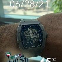 Richard Mille RM 055 Titanium 49.9mm Grey No numerals