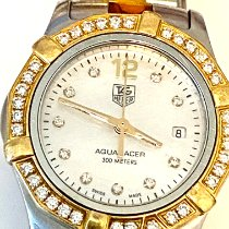 TAG Heuer Aquaracer Lady Gold/Steel 27mm Mother of pearl United States of America, Virginia, Williamsburg