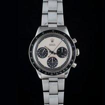 Rolex Daytona Steel 37mm White No numerals
