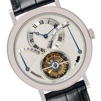 Breguet Platinum Manual winding Silver Roman numerals 39mm new Classique Complications