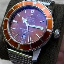 Breitling Superocean Heritage 46 Steel 46mm Brown No numerals United States of America, New York, BROOKLYN