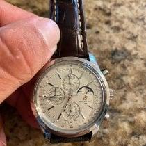 Breitling Transocean Chronograph 1461 Сталь 43mm Cеребро