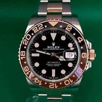 Rolex GMT-Master II Gold/Steel 40mm Black No numerals Malaysia