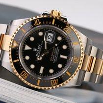 Rolex (ロレックス) イエローゴールド 自動巻き ブラック 文字盤無し 43mm 中古 Sea-Dweller