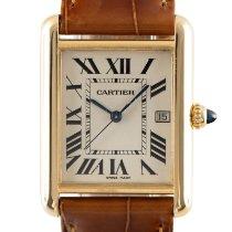 Cartier Tank Louis Cartier 2441 Очень хорошее Желтое золото 25.5mm Кварцевые