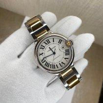 Cartier Ballon Bleu 42mm occasion 42mm Blanc Date Or/Acier