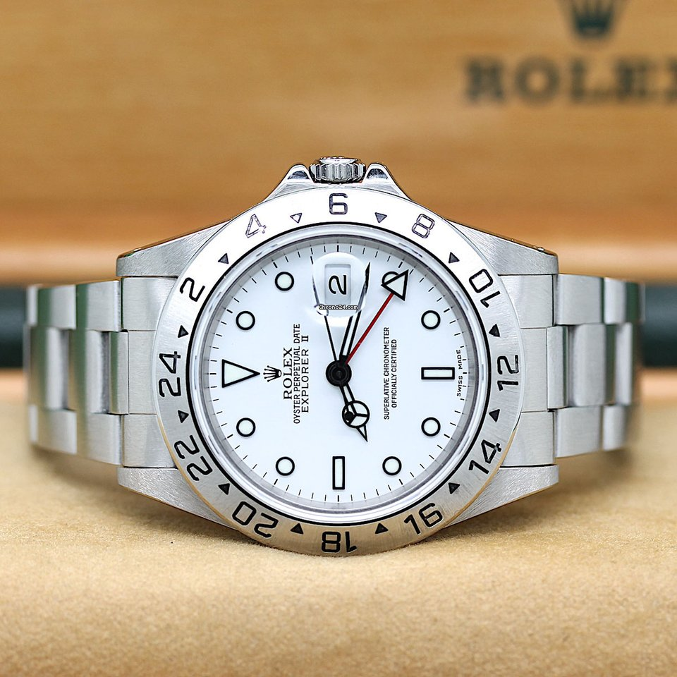 Rolex Explorer II 16570 1997 gebraucht