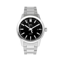 IWC Ingenieur Automatic pre-owned 40mm Black Date Fold clasp