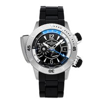 Jaeger-LeCoultre Master Compressor Diving Pro Geographic Titanium 46.3mm Black No numerals United States of America, Pennsylvania, Bala Cynwyd