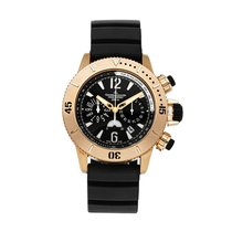 Jaeger-LeCoultre Master Compressor Diving Chronograph Oro rosa 44mm Negro