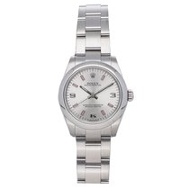 Rolex Oyster Perpetual 31 pre-owned 31mm Silver Fold clasp