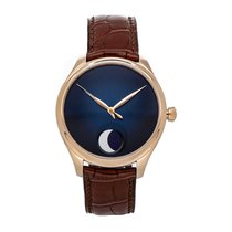 H.Moser & Cie. Endeavour Rose gold 42mm Blue No numerals United States of America, Pennsylvania, Bala Cynwyd
