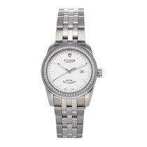 Tudor Glamour Date Steel 31mm Silver No numerals United States of America, Pennsylvania, Bala Cynwyd