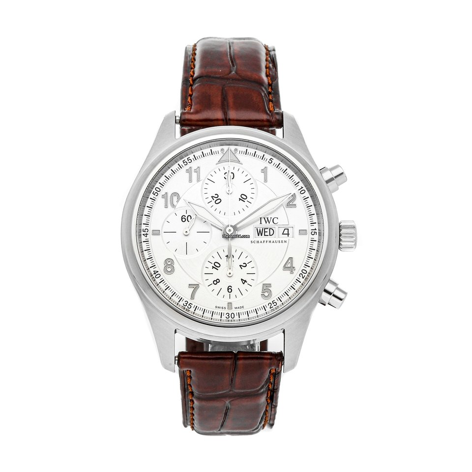 IWC Pilot Spitfire Chronograph IW3717-02 pre-owned