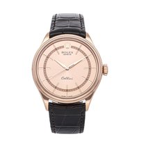 Rolex Cellini Time Rose gold 39mm No numerals
