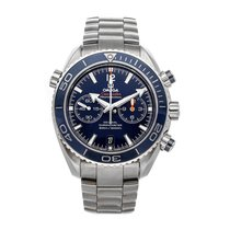 Omega Seamaster Planet Ocean Chronograph Titanium 45.5mm Blue No numerals United States of America, Pennsylvania, Bala Cynwyd