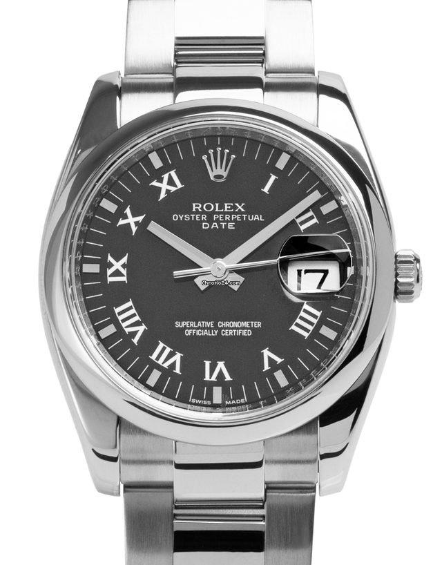 Rolex Oyster Perpetual Date 115200 2008 подержанные