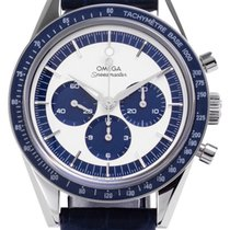Omega Speedmaster Professional Moonwatch pre-owned 39.7mm Leather