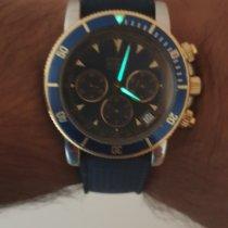 Zenith El Primero Chronograph Acero y oro 40mm Azul