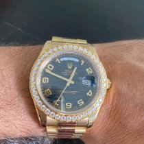 Rolex Day-Date II Yellow gold 41mm Black Roman numerals United States of America, Pennsylvania, west Chester
