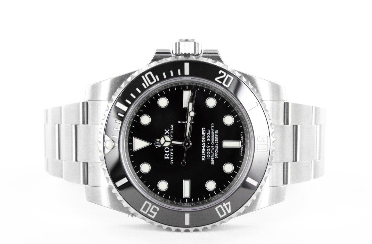 Rolex Submariner (No Date) 114060 2019 новые