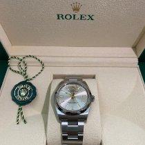 Rolex Oyster Perpetual 36 Steel 36mm Silver Arabic numerals UAE, Dubai