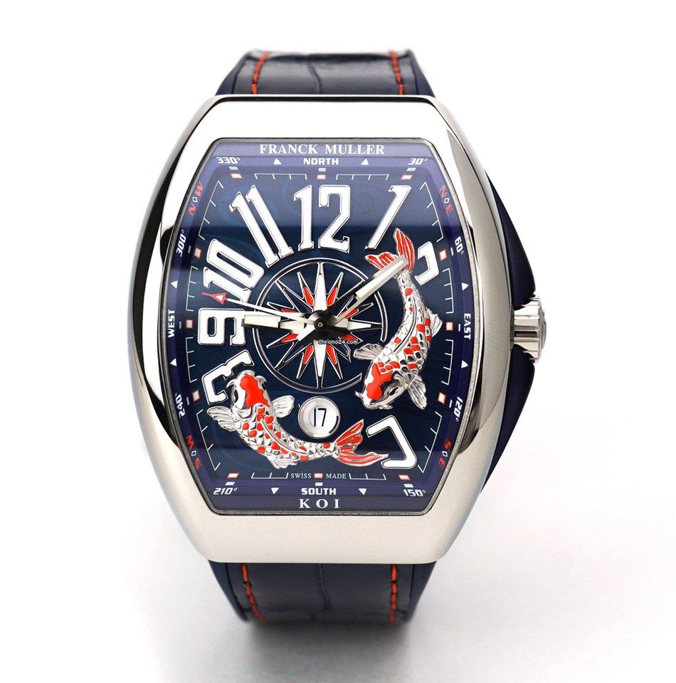 Franck Muller Vanguard V45 YT SC DT AC BL 2021 new