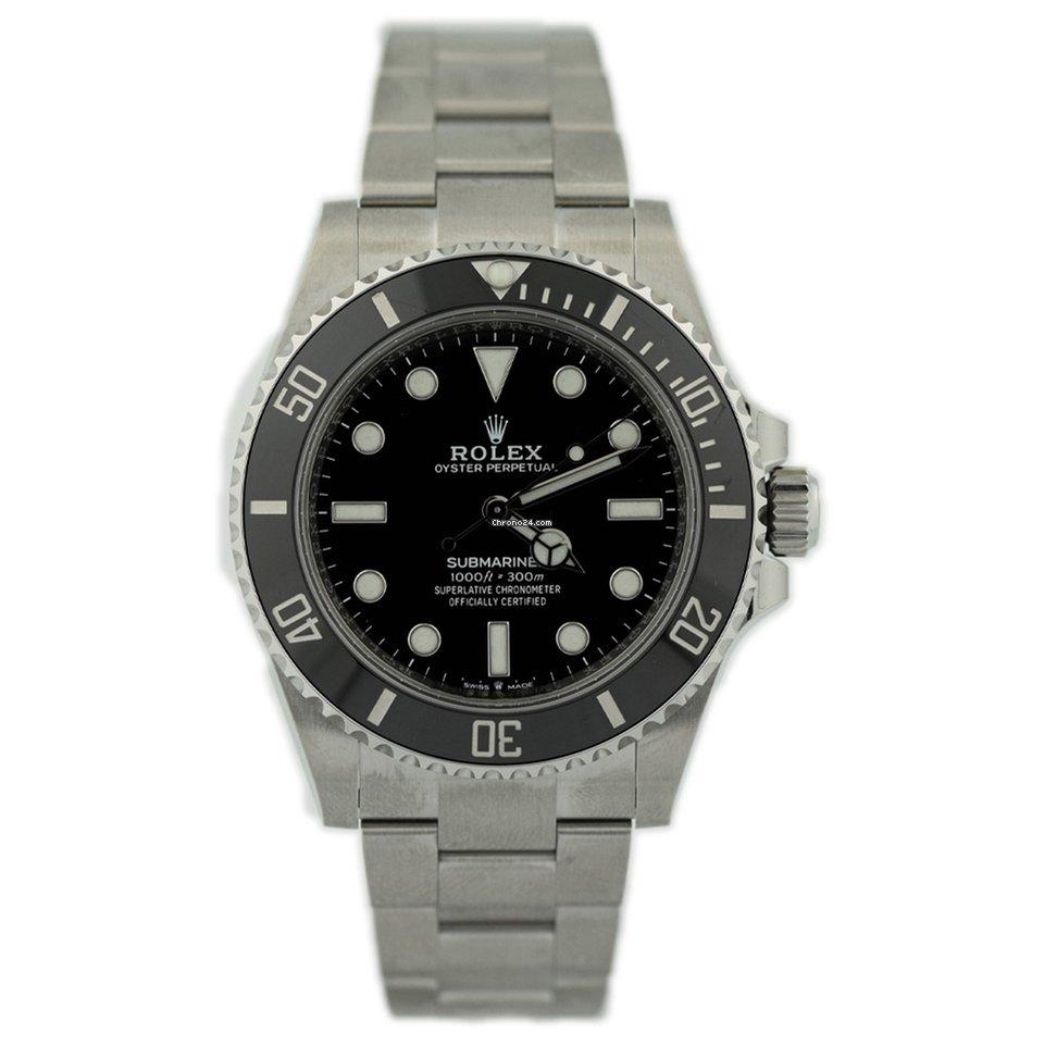 Rolex Submariner (No Date) 124060 2021 new