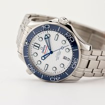 Omega Seamaster Steel 42mm White No numerals United States of America, New Jersey, Oradell