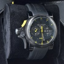 Graham Chronofighter 2TRAB.B11A Very good Steel Automatic Malaysia