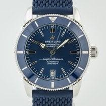 Breitling Superocean Heritage II 42 Acero 42mm Azul Sin cifras