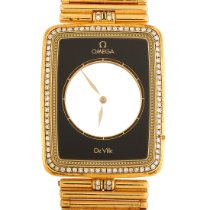 Omega De Ville pre-owned 35mm Transparent Yellow gold