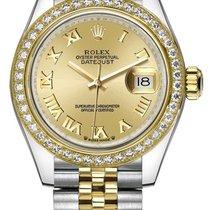 Rolex 279383RBR-CHPDJ Acier Lady-Datejust 28mm nouveau