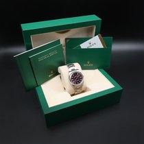 Rolex Oyster Perpetual 34 Steel 34mm Purple Arabic numerals South Africa, Johannesburg