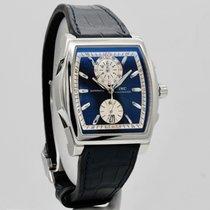 IWC Da Vinci Chronograph Сталь 51mm Синий Без цифр