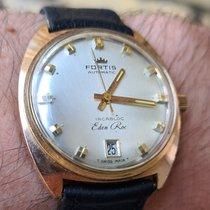 포티스 핑크골드 자동 샴페인색 숫자없음 34mm 중고시계