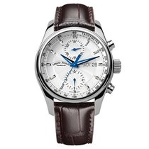 Armand Nicolet Steel 43mm Automatic A647A-AG-P840MR2 new